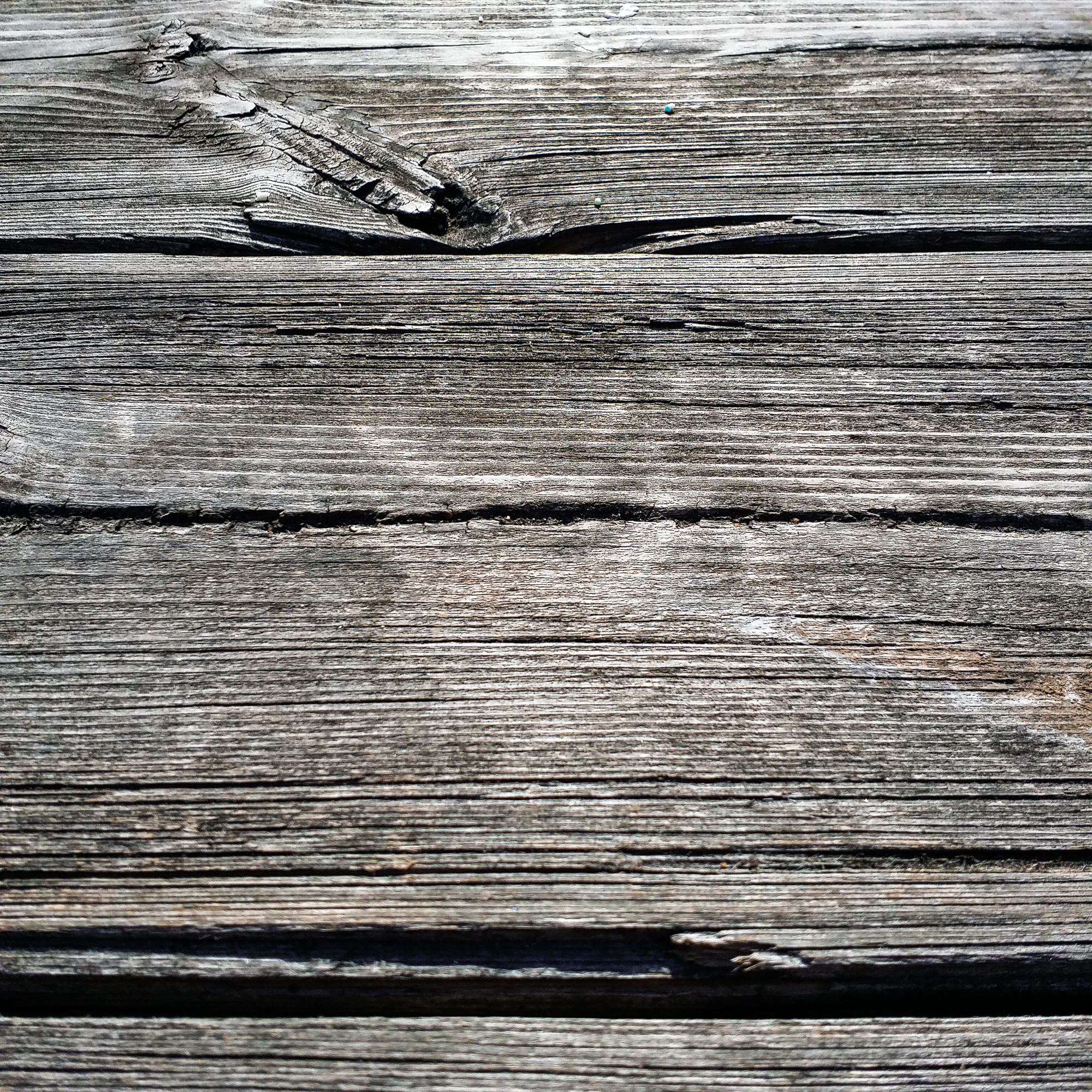 The wood surface is aging outdoors-2